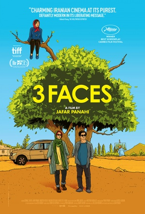 3 Faces Film Poster