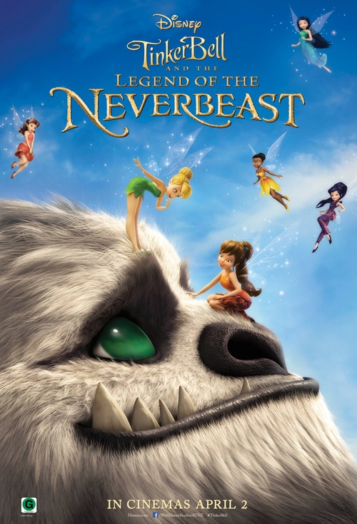 Tinker Bell and the Legend of the NeverBeast Film Poster
