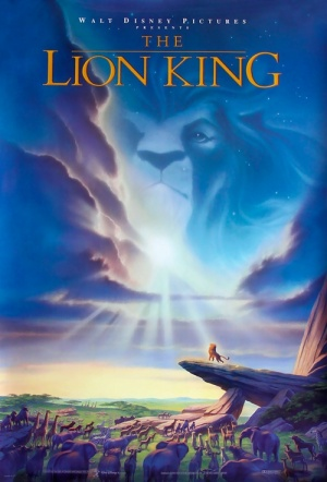 The Lion King 3D Film Poster