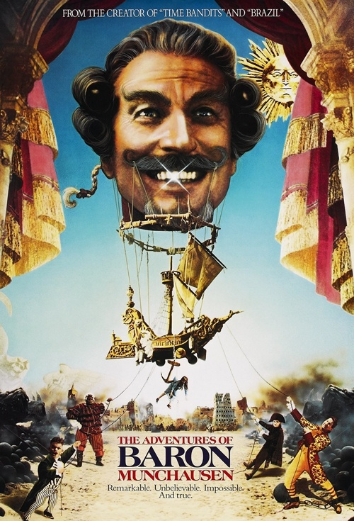 The Adventures of Baron Munchausen Film Poster