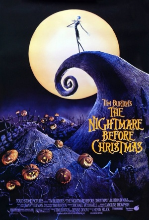 The Nightmare Before Christmas Film Poster