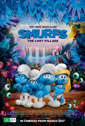 Smurfs: The Lost Village Film Poster
