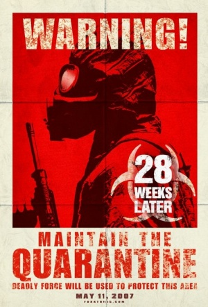 28 Weeks Later Film Poster