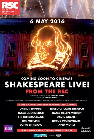 Shakespeare Live! Film Poster