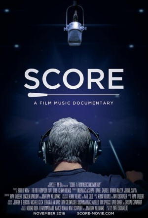 Score: A Film Music Documentary Film Poster