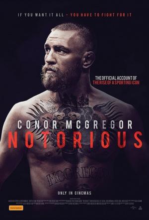 Conor McGregor: Notorious Film Poster