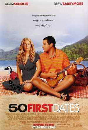 50 First Dates Film Poster