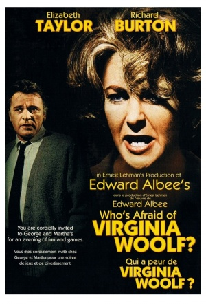 Who's Afraid Of Virginia Woolf? Film Poster