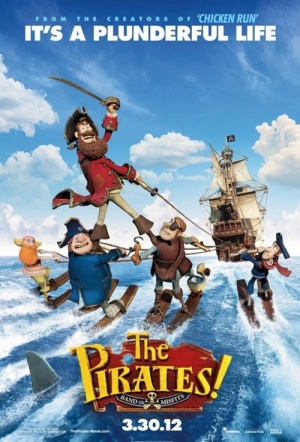 The Pirates! Band of Misfits 3D Film Poster