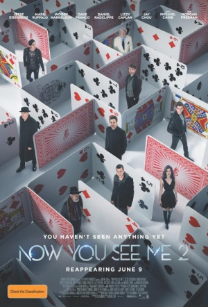 Now You See Me 2 Film Poster