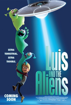 Luis and the Aliens Film Poster