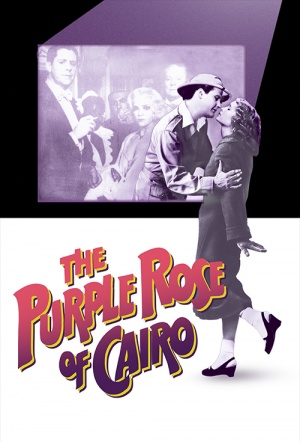 The Purple Rose of Cairo Film Poster
