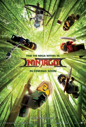 Roxy Rocketeers: The Lego Ninjago Movie Film Poster