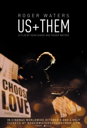 Roger Waters: Us + Them Film Poster
