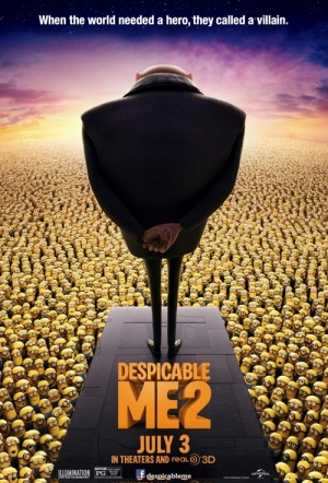 Despicable Me 2 3D Film Poster