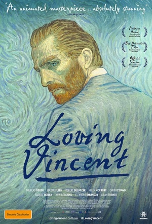 Loving Vincent Q&A Screening Film Poster