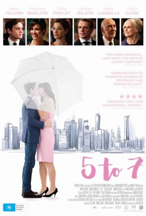 5 to 7 Film Poster
