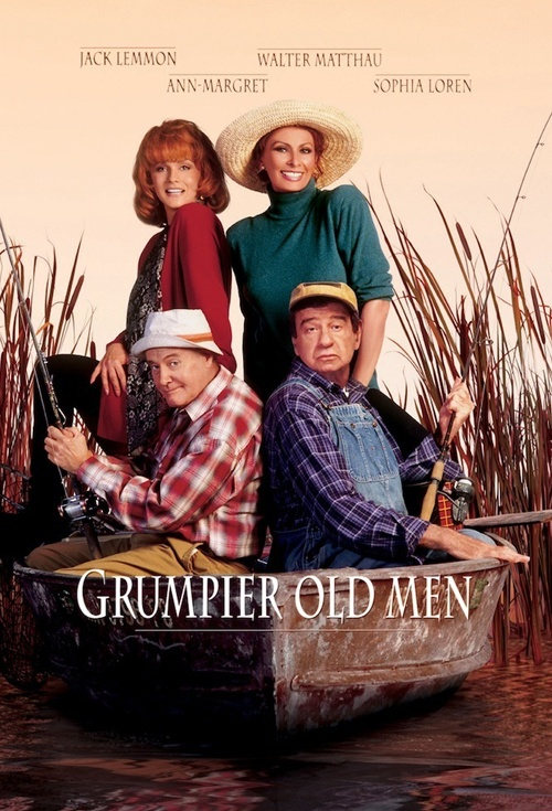Grumpier Old Men Film Poster