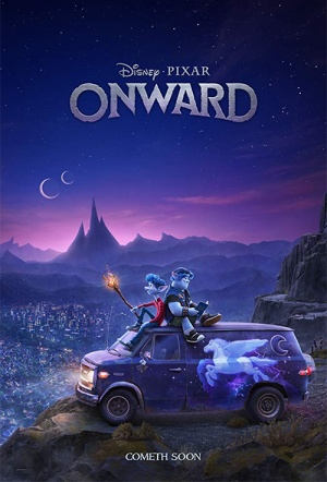 Onward 3D Film Poster