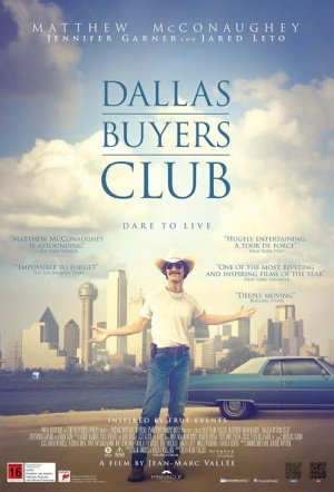 Dallas Buyers Club Film Poster
