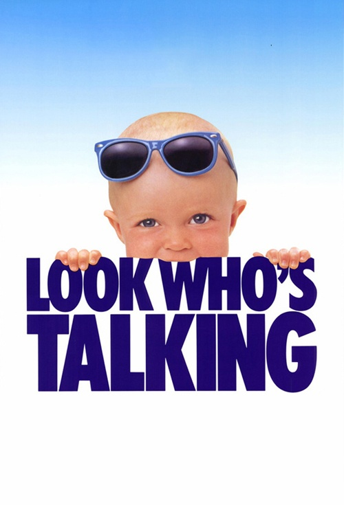 Look Who's Talking Film Poster