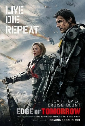 Edge of Tomorrow 3D Film Poster
