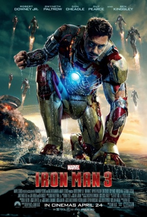 Iron Man 3 3D Film Poster