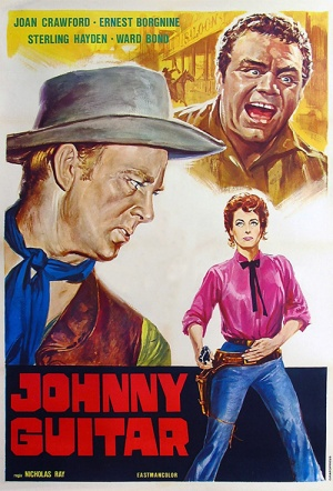 Johnny Guitar (1954) Film Poster