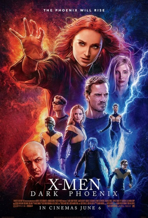 X-Men 3D: Dark Phoenix Film Poster