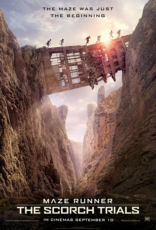 Maze Runner: The Scorch Trials 3D Film Poster