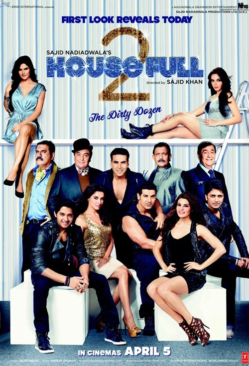 Housefull 2: The Dirty Dozen Film Poster