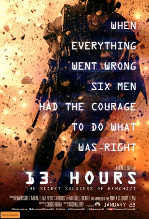 13 Hours: The Secret Soldiers of Benghazi Film Poster