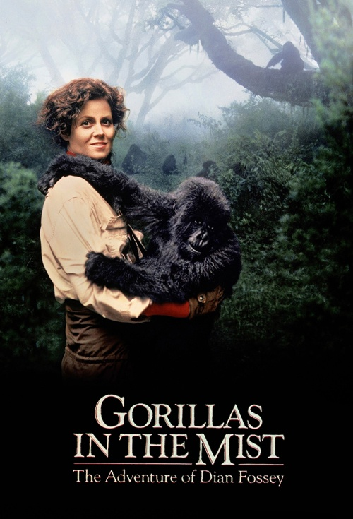 Gorillas in the Mist: The Story of Dian Fossey Film Poster