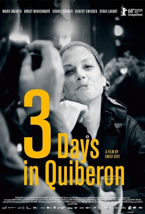 3 Days in Quiberon Film Poster