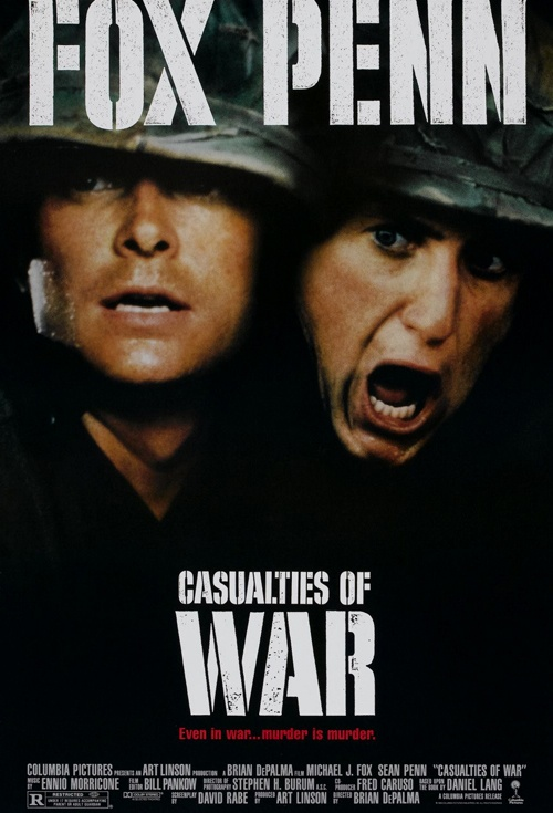 Casualties Of War Film Poster
