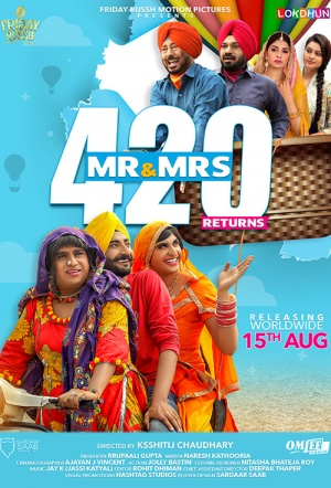 Mr & Mrs 420 Returns Film Poster