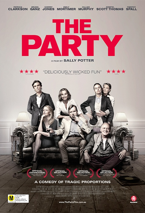 The Party At Academy Gold Cinema Movie Times Tickets