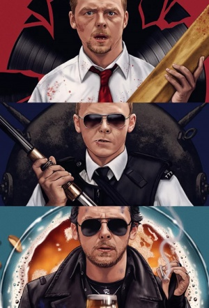 Triple Feature: The Cornetto Trilogy Film Poster