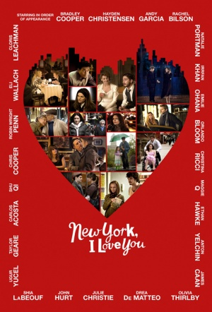 New York, I Love You Film Poster