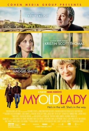 My Old Lady Film Poster