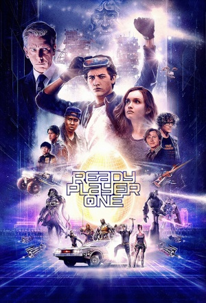 Ready Player One 3D Film Poster