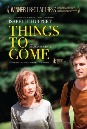 Things to Come (L'avenir) Film Poster
