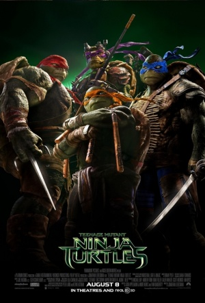 Teenage Mutant Ninja Turtles 3D Film Poster