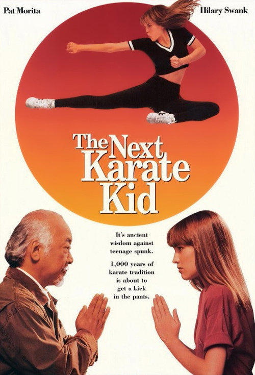 The Next Karate Kid Film Poster