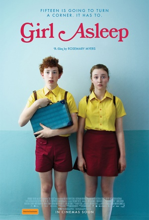 Girl Asleep Film Poster