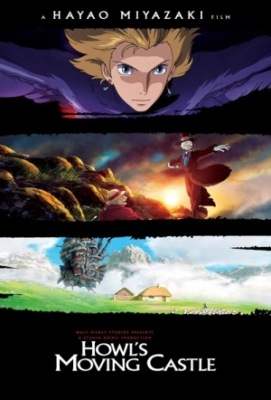Howl's Moving Castle Film Poster