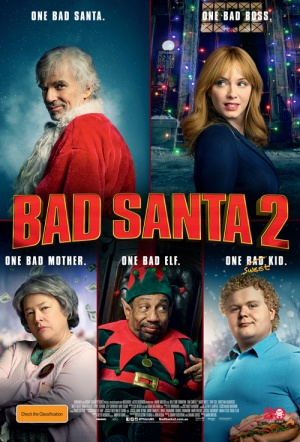 Bad Santa 2 Available On Dvdblu Ray Reviews Trailers Flicks