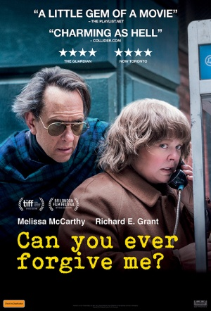 Can You Ever Forgive Me? Film Poster