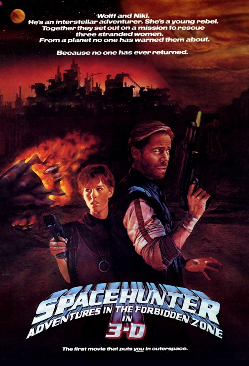 Spacehunter: Adventures in the Forbidden Zone Film Poster