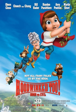 Hoodwinked Too! Hood vs. Evil 3D Film Poster
